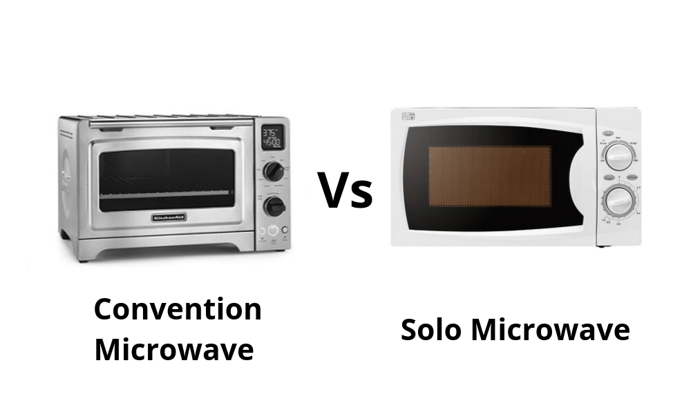 What Is Difference Between Convection And Solo Microwave
