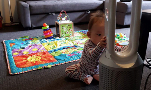 are air purifiers safe to baby